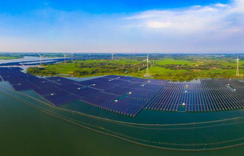Solar photovoltaic power generation application states, cities and power plants