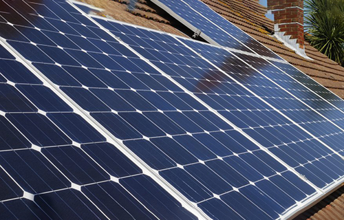 Solar photovoltaic power generation applications on residential roofs, buildings and factory roofs
